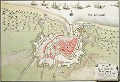 Plan of Dunkirk, 1746