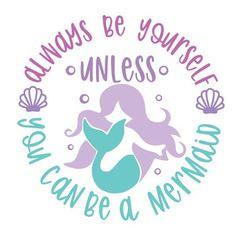 Silhouette Design Store - Product ID halloween unicorn Free Font Design, Design Logo, Mermaid Crafts, Mermaid Art, Mermaid Decals, Silhouette Design, Silhouette Studio, Mermaid Silhouette, Free Svg