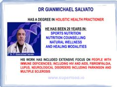 Who is Dr. Gianmichael Salvato