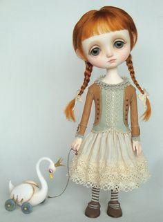 Lucie - original doll by Ana Salvador http://www.dragonflyworks.nl/gallery/originaldolls.htm
