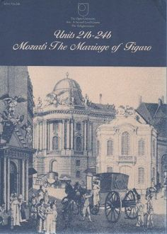 The Enlightenment, Mozart's The Marriage of Figaro (Course A204) 1983