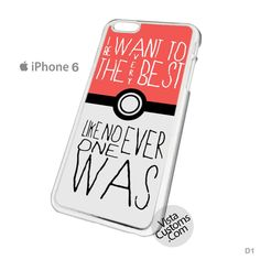 Apple Nintendo Pokemon Pikachu Quote Design Phone Case For Apple, iPhone 4, 4S, 5, 5S, 5C, 6, 6 +, iPod, 4 / 5, iPad 3 / 4 / 5, Samsung, Galaxy, S3, S4, S5, S6, Note, HTC, HTC One, HTC One X, BlackBerry, Z10