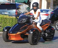 Jade Pinkett Smith Can-Am Spyder