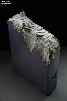 Guy Laramée Books Sculpture  -
