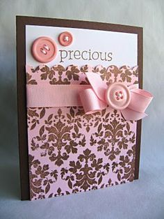 Cute! This website has tons of ideas for handmade cards.