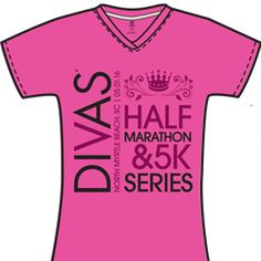 2016 Divas NMB T-Shirt  I like the clean look of this tee - organized. I also like that the design is not a small pocket-sized logo or just across the chest.