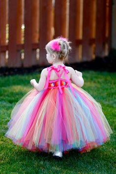 Custom Listing for Alicia Rainbow Bright por littledreamersinc