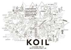 koil Layout Design, Diagram, Invitations, Words, Typo, Graphics, Illustrations, City, Graphic Design