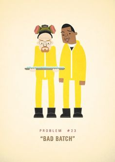 """""""Jay-Z 99 Problems"""" Print by Ali Graham, inspired by the TV show """"Breaking Bad"""" Jay Z, Jackie From Roseanne, Inspirational Rap Lyrics, Hip Problems, Hip Hop Art, Art Archive, Breaking Bad, Some Words, Funny"""