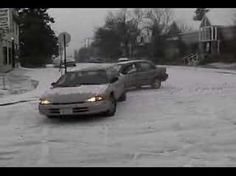 """According to the YouTube description it was an icy day back in 2003 (though this is not necessarily accurate). Do you recall this day? And do you recall who was filming at that intersection? Any information about this video, or that day, that you could provide would be greatly appreciated..."""