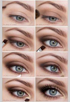 Kardashian Makeup Looks either Smokey Eye Makeup Tutorial Brown Eyes; Makeup Artist Key West - Kardashian Makeup Looks either Smokey Eye Makeup Tutorial Brown Eyes; Makeup Artist Key West - - https:/ Eye Makeup Steps, Eye Makeup Art, Natural Eye Makeup, Natural Eyes, Blue Eye Makeup, Hooded Eye Makeup, Makeup For Brown Eyes, Cute Makeup, Eyeshadow Makeup