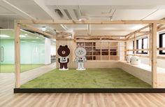 LINE Taipei offices - Taiwan  #officedesign #office #interior #WALL #architect #japan #tokyo #Taiwan #taipei https://wall.ac/interview/143