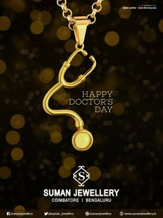 Thank you for your dedication to excellence,each and every day!  #suman_jewellery #wishes #happydoctorsday