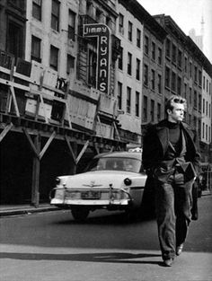 James Dean in New York City