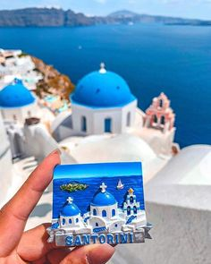 Is there anywhere in the world that's as beautiful as Santorini, Greece? Tap this pin to take a look at our Instagram account for more travel photography.