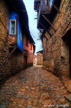 Ottomon empire village - Bursa Cumalıkızık köyü Mart 2015