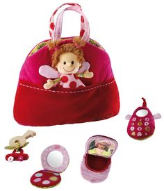 Liz Reversible Handbag So cute to have a friend on hand when out & about. #limetreekids