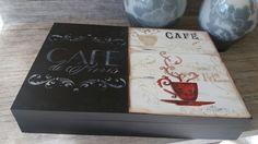 Caixa Porta Cápsulas de Café