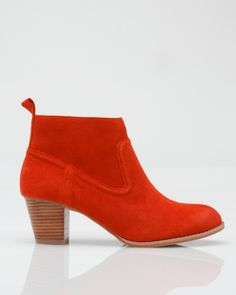 Dolce Vita Jamison bootie in orange $129