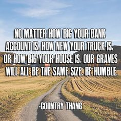 It's a country thang