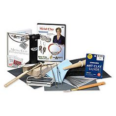 Art Clay® Silver starter set with instructional DVD. Sold per set.