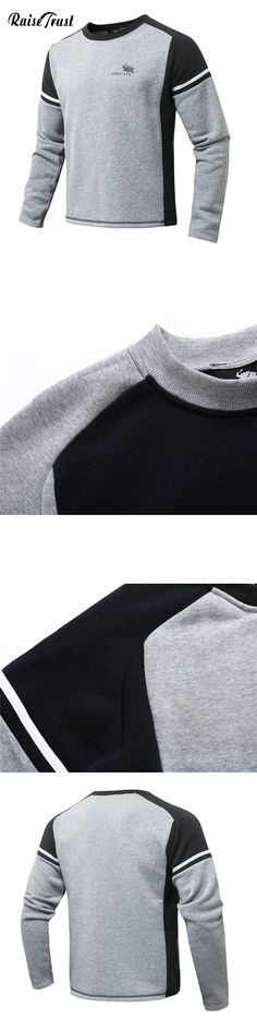 Fashion Men 3d Hoodies Hot Spring Autumn Casual Long Sleeves Splice Sweatshirt O-neck Pullover Sportswear Hip Hop S-XL