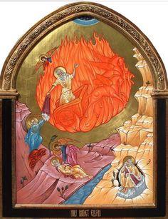 Holy Glorious Prophet Elias (Elijah) century B. Byzantine Icons, Byzantine Art, Early Christian, Christian Art, Religious Icons, Religious Art, Greek Icons, Supernatural Art, Saints And Sinners