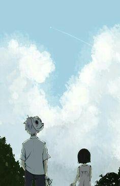 Hotarubi no mori e Sad Anime, Anime Guys, Manga Anime, Anime Art, Fanarts Anime, Anime Films, Manga Characters, Slice Of Life, Hotaru No Mori E