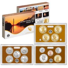 Coin Set: 2014 S Us Mint Proof Set Original Government Packaging