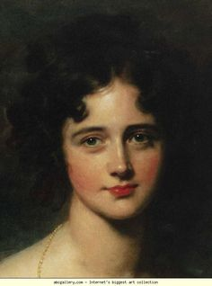 sir thomas lawrence paintings | Sir Thomas Lawrence. Rosamund Hester Elizabeth Croker (1810-1906 ...