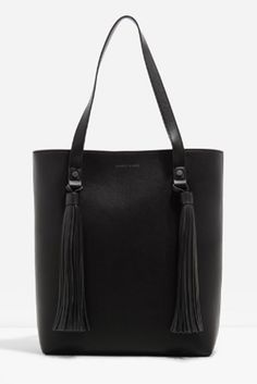 The Latest Accessories Trends You Need To Shop Now #refinery29  http://www.refinery29.com/2016/09/123473/accessories-trends-fall-2016-polyvore#slide-10  Black Tote BagsA (frequently sought) classic for a reason.Charles
