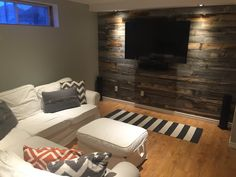 @stikwooddesign makes the easiest reclaimed wood wall product. Simply peel and stik!