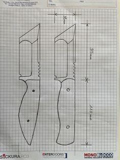 Knife Template, Knife Patterns, Stencil Wall Art, Sword Design, Diy Welding, Metal Tools, Tactical Knives, Knife Making, Knifes