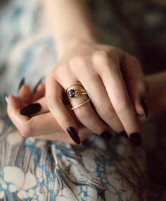 Iolite Bliss Ring