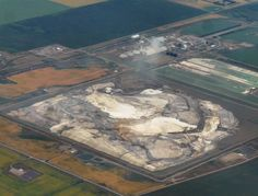 ...This is Kalium potash mine at Belle Plaine Saskatchewan. I worked here for my first job fresh from the farm/ranch when I was 18 years old.  See those beehives in the top center? I used to haul off-spec potash from train cars to those beehive warehouses in a large truck. One day I was a careless young man.. I ended up costing the company $100000 by doing things that an 18 year old does. Little did I know on that particular day that it would be my last day at the mine. It was the first job…
