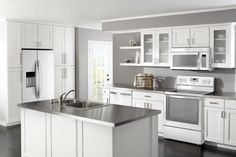 Kitchen Design Trend Report: Are You Ready For the New Stainless Steel? Whirlpool's White Ice collection of appliances