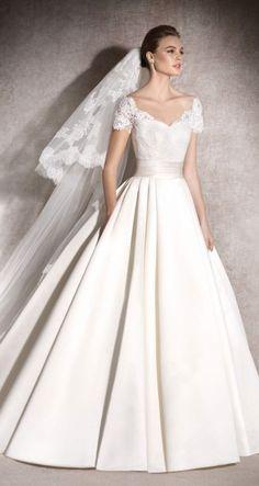 Featured Dress: St. Patrick; Wedding dress idea.