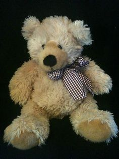 "TY Retired Classic Boudreaux Teddy Bear Beanie Babies 14"" Stuffed Animal 2005 Ty Bears, Beanie Babies, Plushies, Childhood, Teddy Bear, Stuffed Animals, Classic, Baby, Symbols"