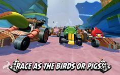Angry Birds Go! es el nuevo título de Rovio que convierte a los populares pájaros en pilotos de carreras. Gratis para las principales plataformas móviles.