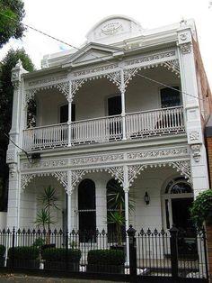 Terrace house in St Kilda, Melbourne Australia