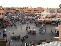 Marrakech: The centuries old place Djemaa el-Fna is known for its thousand year history and constant market that runs 24/7 1000+ years. This is where the heat and beating heart of Africa merge. Snake charmers, acrobats, fire breathers dance away the night, food carts dish out regional delicacies and the world blossoms in bizarre delight.   #travel #morocco #backpacking #jemaaelfna #djemaaelfna #moroccan #marrakech #bazaar #souk #africa #northafrica #food #foodie #backpacker #travelblog