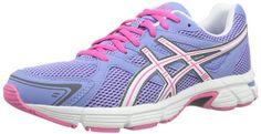 Asics GEL Pursuit - Zapatillas de running para mujer, color azul / blanco / rosa, talla 38 - http://paracorrer.com/producto/asics-gel-pursuit-zapatillas-de-running-para-mujer-color-azul-blanco-rosa-talla-38/