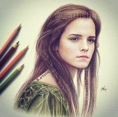 Emma Watson playing Ila in Noah