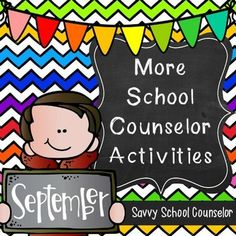 More School Counselor Activities for September:  Includes activities for Responsibility, Friendship, Attendance and the Health Services career cluster.