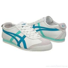 Image result for Onitsuka Tiger by Asics Mexico 66 Women's Sneakers White/Ocean Blue