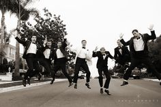 Great group of groomsmen at our wedding a couple weekends ago at La Jolla Country Club in CA!