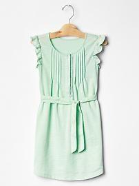 Gap. Pintuck flutter jersey dress