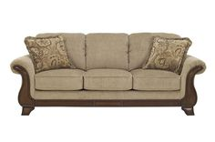 Lanett Traditional Classics Barley Fabric Sofa