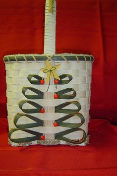 This is one of the baskets in my 2012 Christmas Collection.