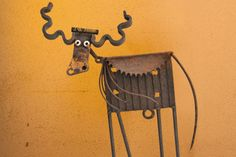 Cow made by Heise Metal Sculpture